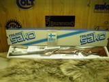 SAKO SAFARI GRADE RIFLE CAL: 375 H/H 100% NEW AND UNFIRED IN FACTORY BOX!