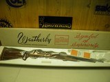 WEATHERBY MARK XXII DELUXE 22 SEMI-AUTO TUBEFEED RIFLE 100% NEW AND UNFIRED IN FACTORY BOX!
