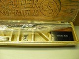 COLT SAUER SPORTING RIFLE CAL: 243 WIN. NEW AND UNFIRED IN FACTORY BOX! - 3 of 14
