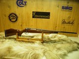 COLT SAUER SPORTING RIFLE IN THE SCARCE CALIBER 25/06 BEAUTIFUL FIDDLE BACK WOOD, 100% NEW IN FACTORY BOX! - 5 of 17