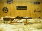 RUGER MINI-14 RANCH RIFLE BLUED CAL:223 100% NEW AND UNFIRED IN FACTORY BOX! - 3 of 8