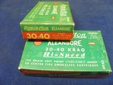 2full boxes remington 30 40 krag