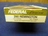 FEDERAL PREMIUM 280 REMINGTON