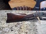 Winchester 1873Carbine Factory Nickel Deluxe