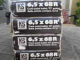 6.5 X 68R ****RIMMED****