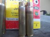 500 Jeffery Kynoch Brass-Once Fired- 1 of 2