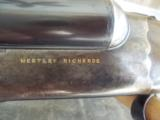 Westley Droplock 12 gauge C Bolted, Scalloped Action, Ejector - 1 of 15