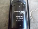 Swarovski 1 1/2 x 6 x 42#4 ReticuleRifle Scope - 3 of 9