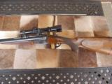 Perugini & Visini Double Rifle 9.3x74R Ejector, claw system- Leupold variable
