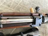 Johannsen .416 Rigby Double Square Bridge Magnum Length Mauser with ERA Quick Detach Mounts - 8 of 23