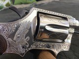 Colt Police Positive Special - Silver Plated - John Adams Engraved .38 Special