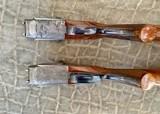 Pair of Sidelock Waterfowl Guns 10 Gauge and 12 Gauge - 11 of 12