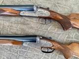 Pair of Sidelock Waterfowl Guns 10 Gauge and 12 Gauge - 3 of 12