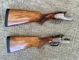 Pair of Sidelock Waterfowl Guns 10 Gauge and 12 Gauge - 7 of 12