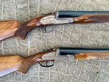 Pair of Sidelock Waterfowl Guns 10 Gauge and 12 Gauge