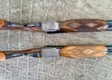 Pair of Sidelock Waterfowl Guns 10 Gauge and 12 Gauge - 2 of 12