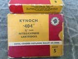 Kynoch .404 Ammo Soft and Solids - 5 of 5