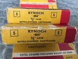 Kynoch .404 Ammo Soft and Solids - 2 of 5