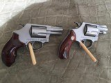 Pair of VERY NICELady Smith 357 Mag Model 60-14and Model 60-7 .38 SpecialSMITH &WESSON