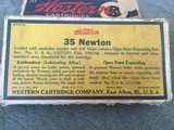 NEWTON---.35 NEWTON FACTORY WESTERN CARTRIDGE CIRCA 1930 ** CARTRIDGE COLLECTORS --YOU WON'T FIND OTHERS ** - 3 of 14