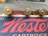 NEWTON---.35 NEWTON FACTORY WESTERN CARTRIDGE CIRCA 1930 ** CARTRIDGE COLLECTORS --YOU WON'T FIND OTHERS ** - 4 of 14