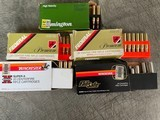 .338 WINCHESTERMAG MIXED19 ROUNDSAND 4 PEICES NEW BRSS - 1 of 4