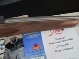 Kimber Classic Varmint Stainless Fluted.22LR **New in Box** - 5 of 12