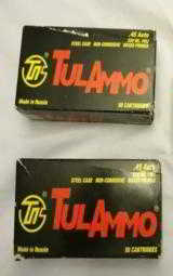 45 ACP 230GR TULA BRAND FMJ AMMO IN 50RD BOXES - 1 of 1