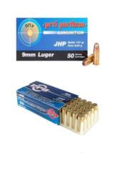 9MM 147GRAIN JACKETED HOLLOW POINT 50 PER BOX/ 20 PER CASE - 1 of 1