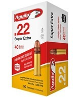 22LR AGUILA 40GR RIMFIRE AMMO 5,000 RDS >>BLOW OUT PRICE