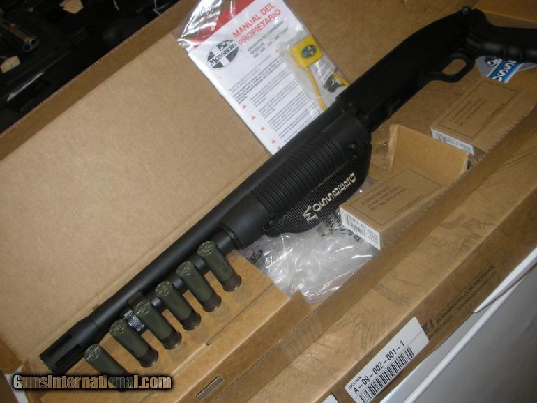 MOSSBERG 500 TACTICAL PISTOL GRIP SHOTGUN, 12 GAUGE, 18 5