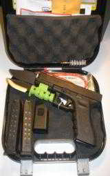 GLOCKG-22,GENERATION3,2 - 15ROUNDMAGS,40 S&W,MAGLOADER.FACTORYN.I.B,.*** RECEIVE ONE FREE 31 ROUND MAGAZINE WITHGUN ***