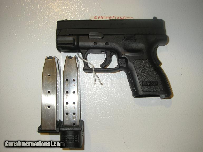 SPRINGFIELD XD-40 SUB COMPACT & KIT WITK TWO MAGS FACTORY