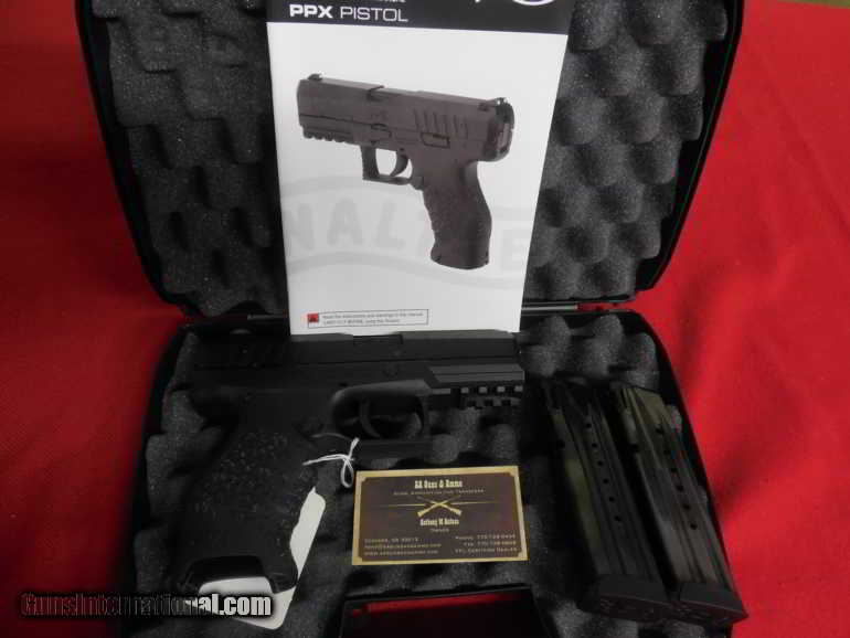 WALTHER PPX, ON SALE, 9 - M M , 2 - 16 + 1 ROUND, MAGS, 4 0