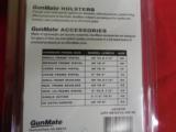 HIP - HOLSTER,GUNMATE,LARGEFRAMEPISTOLS,UPTO4.0