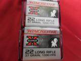 22 L.R.AMMO,WINCHESTER,100RD.BOXES,1330 F.P.S.37 GR.ROUNDNOSEHO;;OWPOINT - 4 of 9