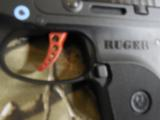 RUGERL.C.P.ALLNEW380CUSTOM ,COMES WITH AWIDE REDSKELTONIZED ALUMINUM TRIGGER,NEWINBOX - 8 of 13