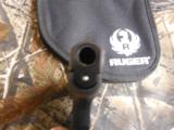RUGERL.C.P.ALLNEW380CUSTOM ,COMES WITH AWIDE REDSKELTONIZED ALUMINUM TRIGGER,NEWINBOX - 7 of 13