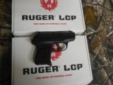 RUGERL.C.P.ALLNEW380CUSTOM ,COMES WITH AWIDE REDSKELTONIZED ALUMINUM TRIGGER,NEWINBOX - 10 of 13