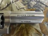 "RUGERGP - 100,357MAGNUMSTANLESSSTEEL,4.0""BARREL,6SHOT,ADJUSTABLESIGHTS,FACTORYNEWINBOX - 5 of 15"