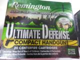 REMINGTONULTMATE DEFENSE38SPECIAL. + P125GR.J.H.P.- 1 of 13
