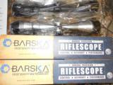 OPTICS,BARSKASCOPE( BARSKAPERCISION )3X9X40-MM,BLACKORSILVER,FACTORYNEWINBOX. - 3 of 16