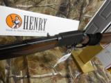 HenryBigBoySteel,357 MAGNUM / 38 SPL.10 + 1ROUNDS,LEVERACTION,AmericanWalnuStock,FACTORYNEWINBOX - 10 of 17
