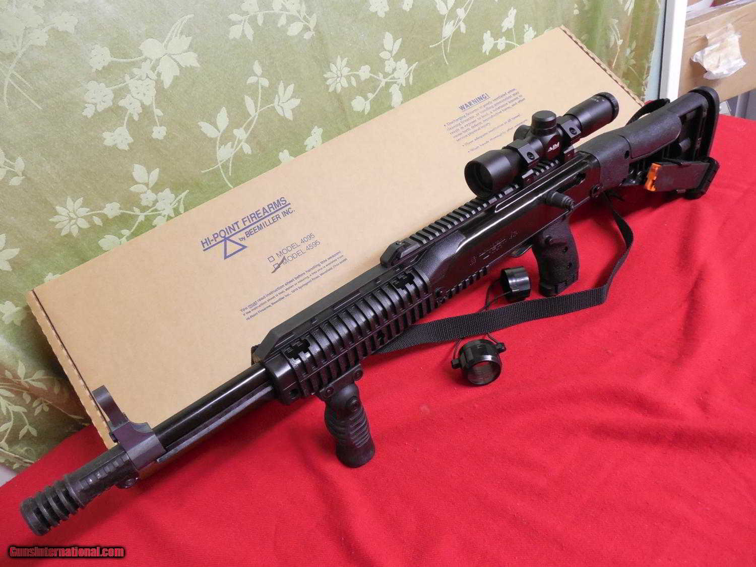 Hi point 380 for sale - Hi Point Carbine 380 Acp Model 380ts 10 1 Mag Adjustable Sights Factory New In Box
