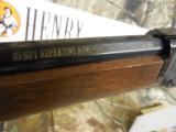 HENERY# 4001TMAP,22MAGNUMLEVERACTION12 + 1ROUNDS,PEEPSIGHT,FACTORYNEWINBOX - 11 of 17