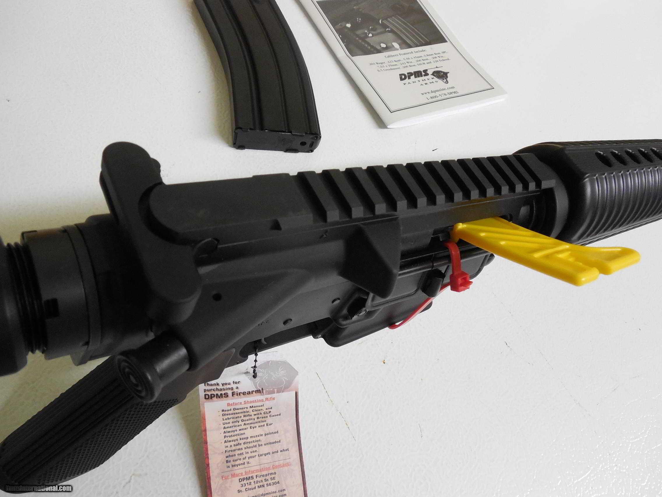 d p m s oracle ar 15 5 56 nato 223 mags 1 30 1 10 rd rh gunsinternational com DPMS Oracle AR-15 DPMS AR- 10