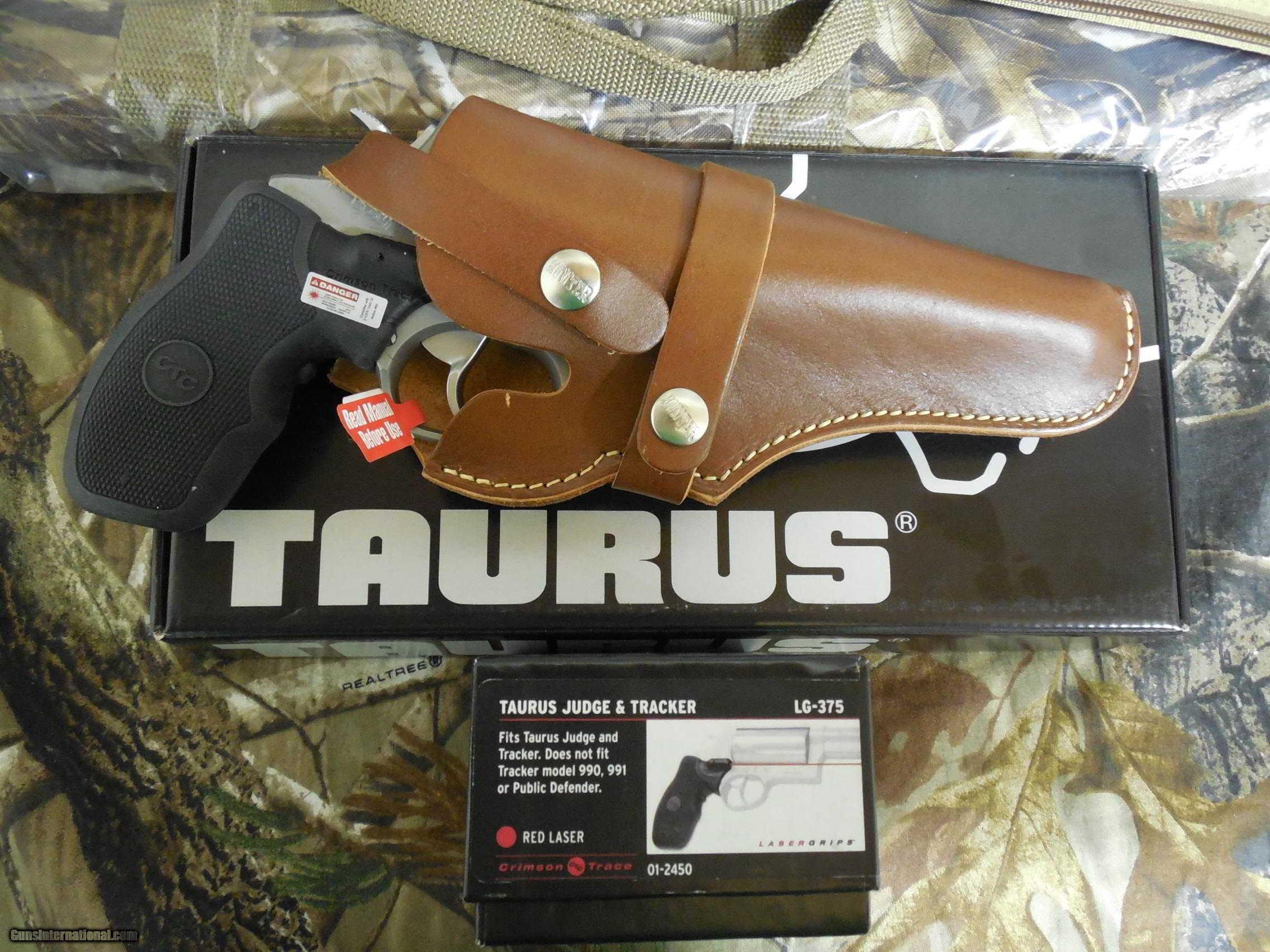TAURUS JUDGE, STAINLESS STEEL, 45 LONG / 410, 3 0