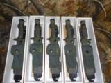 """BAYONET,M - 9AR - 15ORM - 16,WITHSCABBING,12""""OVERALL,WIRECUTTER,EASYONOFFBELT,GREENNEWINBOX"""