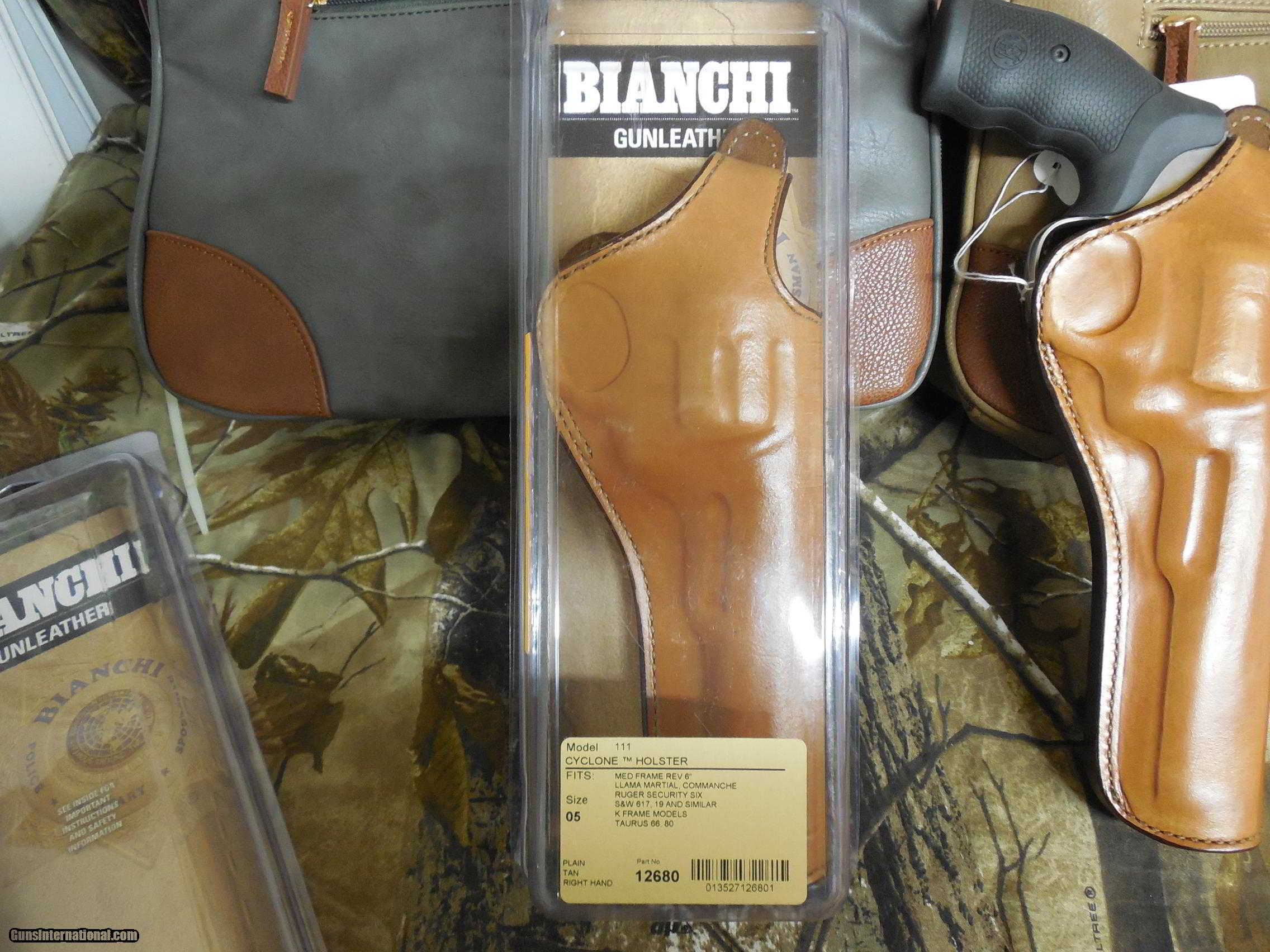 BIANCHI GUNLEATHER HOLSTERS, 4\