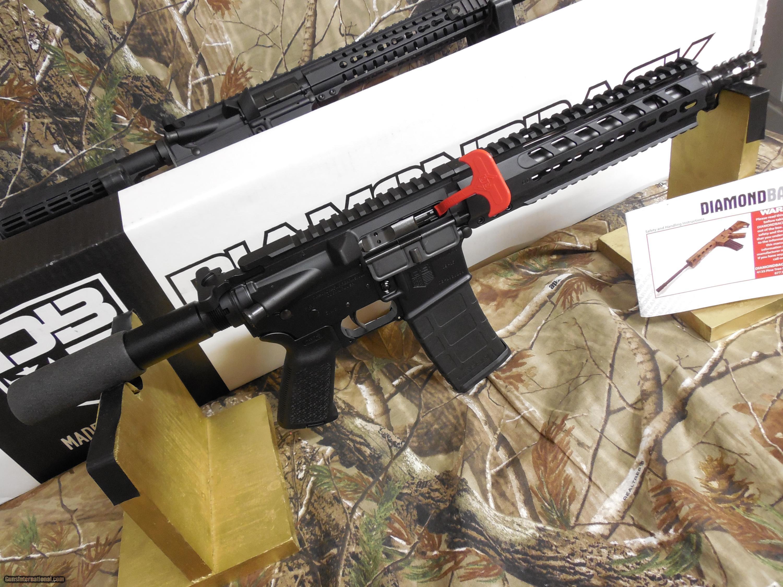 AR-15 DIAMONDBACK PISTOL, ( DB15PB10 ) 223 / 5 56, 30